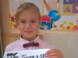 Девятилетняя случчанка заняла 4 место на международном конкурсе в США