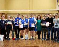 Команда сахарорафинадного комбината стала победителем в районных соревнованиях по волейболу