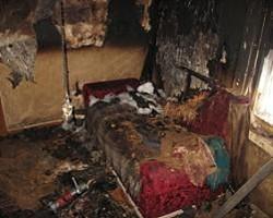 В Копыльском районе рабочий спас мужчину на пожаре