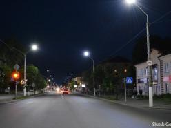 В Слуцке появится «умная» система управления уличным освещением