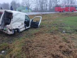 Третье за неделю ДТП произошло на перекрёстке в деревне Леньки