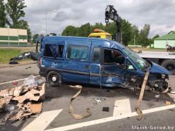 ГАИ ищет очевидцев аварии в деревне Леньки