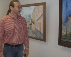Выставка «Мир ощущений» Юрия Лешика