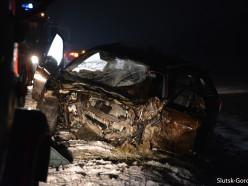 Второе за день ДТП со смертельным исходом произошло в Слуцком районе