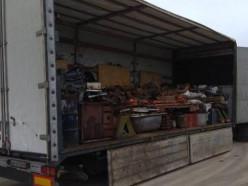 Жители Солигорска и Слуцка пытались вывезти в Россию 21 тонну чермета