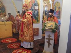 В первый день нового года в слуцком ЛТП епископ Антоний молился о трезвости
