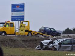 Ещё одно ДТП произошло на трассе Р23 на минувших выходных
