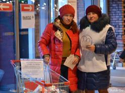 В магазинах Слуцка начался сбор товаров для детей-инвалидов