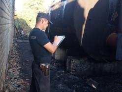 СК проводит проверку по факту пожара на мазутной станции, в котором пострадал работник