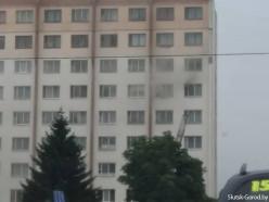 Пожар в общежитии на Молодёжном центре: справились быстро благодаря пожарной сигнализации