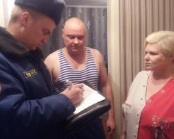 Внештатники Слуцкого РОЧС посетили квартиры случчан и напомнили о правилах безопасности