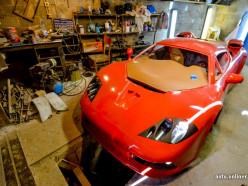 Солигорчанин сделал в гараже копию McLaren