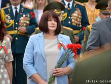 День Независимости: возложение цветов на мемориальном комплексе. Фото