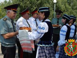 В Слуцке прошли мероприятия, посвящённые годовщине железнодорожных войск