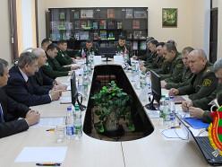 В Слуцке прошло заседание Объединённого совета транспортных войск Беларуси и России
