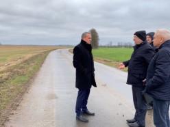 Министр транспорта посетил Слуцк и проинспектировал проект реконструкции трассы Р23 до Солигорска