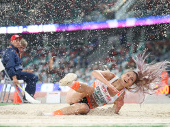 Случчанка Анастасия Мирончик-Иванова стала лучшей в прыжках в длину в матче легкоатлетов Европа - США