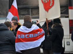 В Слуцке прошёл митинг, посвящённый 98-й годовщине Слуцкого восстания