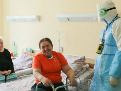 «Слава Богу, я выжила!». Пациентка после 4 недель на ИВЛ