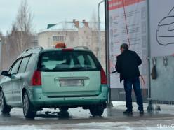 Фотофакт: в Слуцке начала работать вторая автомойка самообслуживания