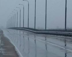 В Житковичском районе может обрушиться автомобильный мост, движение перекрыто