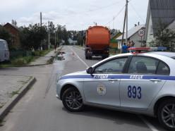 В Клецке мусоровоз насмерть задавил работника ЖКХ