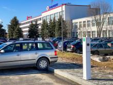 В Солигорском районе появились первые зарядные станции для электромобилей
