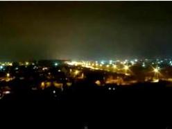 Ночной город Слуцк.