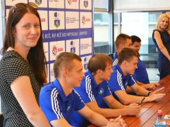 СФК «Слуцк» представил пятерых новобранцев