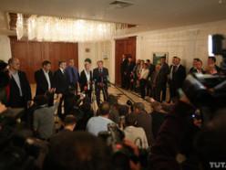 Обнародован протокол о перемирии в Украине