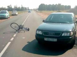 ГАИ ищет очевидцев наезда на велосипедистку по ул. Солигорская