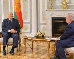 Лукашенко: Беларусь готова сотрудничать с ОБСЕ, если нас не будут толкать в спину