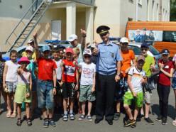 Воспитанники школьного оздоровительного лагеря побывали в гостях у Слуцкого отдела Департамента охраны