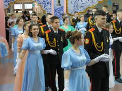 Как в Слуцке прошёл юбилейный кадетский бал. Репортаж