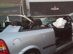 Лоб в лоб столкнулись Opel и МАЗ
