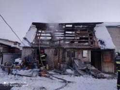 17 января в Слуцком районе произошло три пожара