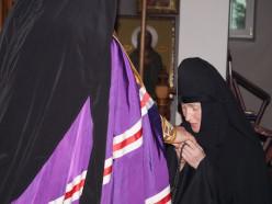 В женском монастыре Слуцка впервые совершён постриг