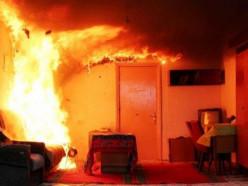 Благодаря автоматическому пожарному извещателю в деревне Кухты удалось спасти мужчину