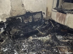 «Комсомолка» пошла дальше и распросила хозяку квартры на Солигорской, в которой случился пожар