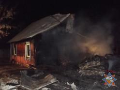 На пожаре в деревне М.Падерь погибла семья