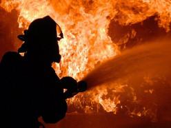 На пожаре в деревне Гольчичи погиб 30-летний мужчина