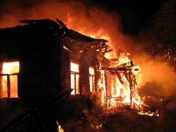 За вечер под Слуцком сгорели два дома