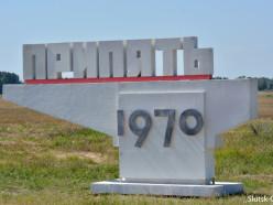 В Слуцке установили декорацию для съёмок фильма про Чернобыль. Фотофакт