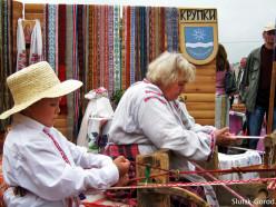 II Областной праздник ремёсел «Слуцкие пояса». Фото