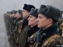 Присяга-2017: в Слуцке 372 молодых солдата дали клятву на верность Родине