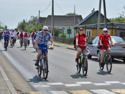 В Слуцком районе прошёл очередной велопробег