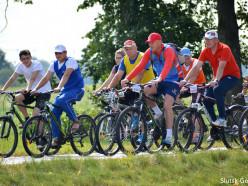 В Слуцком районе проходит областной велосипедный тур