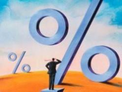 Ставка рефинансирования упала на 1%