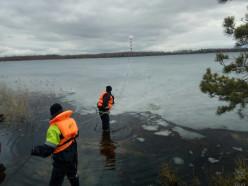 В Пуховичском районе сотрудники МЧС два раза спасли провалившегося под лёд