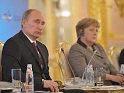 Путин, Меркель и Олланд выступили за прекращение силовой операции в Украине